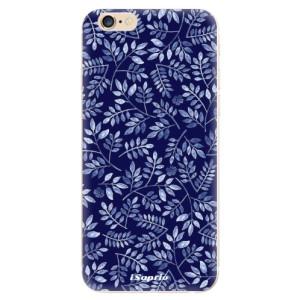 Silikonové odolné pouzdro iSaprio Blue Leaves 05 na mobil Apple iPhone 6 / Apple iPhone 6S - poslední kousek za tuto cenu