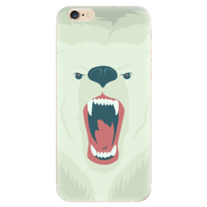 Silikonové odolné pouzdro iSaprio Angry Bear na mobil Apple iPhone 6 / Apple iPhone 6S