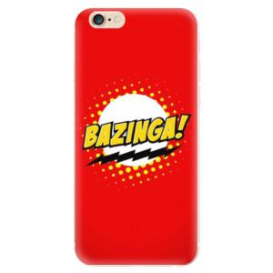 Silikonové odolné pouzdro iSaprio Bazinga 01 na mobil Apple iPhone 6 / Apple iPhone 6S