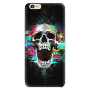 Silikonové odolné pouzdro iSaprio Skull in Colors na mobil Apple iPhone 6 / Apple iPhone 6S  - poslední kousek za tuto cenu