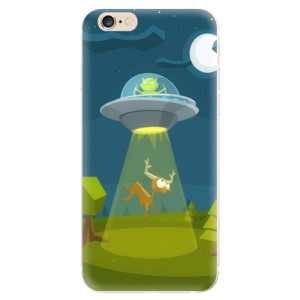 Silikonové odolné pouzdro iSaprio Alien 01 na mobil Apple iPhone 6 / Apple iPhone 6S