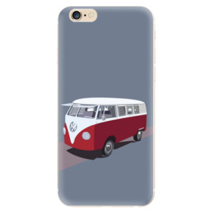 Silikonové odolné pouzdro iSaprio VW Bus na mobil Apple iPhone 6 / Apple iPhone 6S
