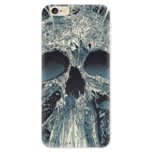 Silikonové odolné pouzdro iSaprio Abstract Skull na mobil Apple iPhone 6 / Apple iPhone 6S