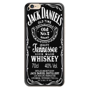 Silikonové odolné pouzdro iSaprio Jack Daniels na mobil Apple iPhone 6 / Apple iPhone 6S - poslední kousek za tuto cenu