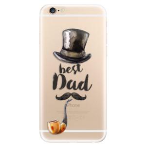 Silikonové odolné pouzdro iSaprio Best Dad na mobil Apple iPhone 6 / Apple iPhone 6S
