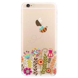 Silikonové odolné pouzdro iSaprio Bee 01 na mobil Apple iPhone 6 / Apple iPhone 6S