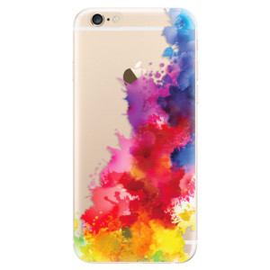 Silikonové odolné pouzdro iSaprio Color Splash 01 na mobil Apple iPhone 6 / Apple iPhone 6S