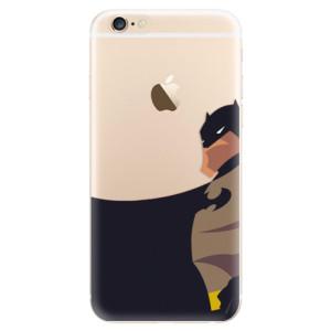 Silikonové odolné pouzdro iSaprio BaT Comics na mobil Apple iPhone 6 / Apple iPhone 6S