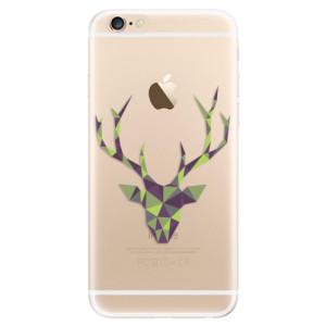 Silikonové odolné pouzdro iSaprio Deer Green na mobil Apple iPhone 6 / Apple iPhone 6S - poslední kousek za tuto cenu