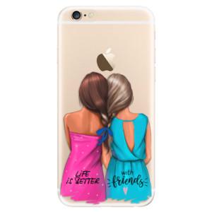 Silikonové odolné pouzdro iSaprio Best Friends na mobil Apple iPhone 6 / Apple iPhone 6S