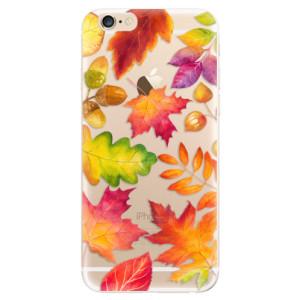 Silikonové odolné pouzdro iSaprio Autumn Leaves 01 na mobil Apple iPhone 6 / Apple iPhone 6S