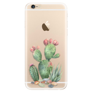 Silikonové odolné pouzdro iSaprio Cacti 01 na mobil Apple iPhone 6 / Apple iPhone 6S