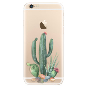 Silikonové odolné pouzdro iSaprio Cacti 02 na mobil Apple iPhone 6 / Apple iPhone 6S