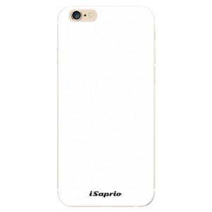 Silikonové odolné pouzdro iSaprio 4Pure bílé na mobil Apple iPhone 6 / Apple iPhone 6S