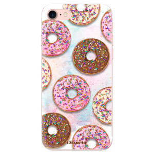 Silikonové odolné pouzdro iSaprio Donuts 11 na mobil Apple iPhone 7