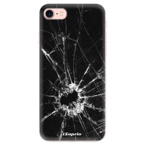 Silikonové odolné pouzdro iSaprio Broken Glass 10 na mobil Apple iPhone 7