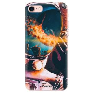 Silikonové odolné pouzdro iSaprio Astronaut 01 na mobil Apple iPhone 7