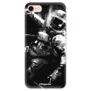 Silikonové odolné pouzdro iSaprio Astronaut 02 na mobil Apple iPhone 7