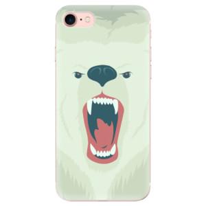 Silikonové odolné pouzdro iSaprio Angry Bear na mobil Apple iPhone 7