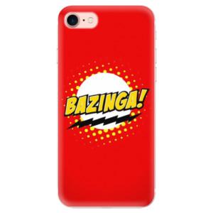 Silikonové odolné pouzdro iSaprio Bazinga 01 na mobil Apple iPhone 7
