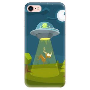 Silikonové odolné pouzdro iSaprio Alien 01 na mobil Apple iPhone 7