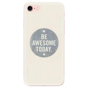 Silikonové odolné pouzdro iSaprio Awesome 02 na mobil Apple iPhone 7