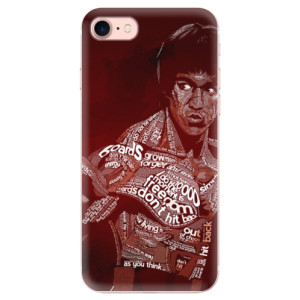 Silikonové odolné pouzdro iSaprio Bruce Lee na mobil Apple iPhone 7
