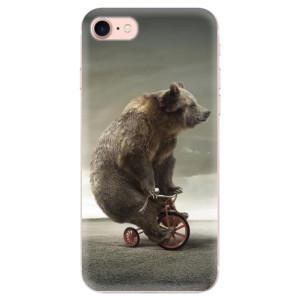 Silikonové odolné pouzdro iSaprio Bear 01 na mobil Apple iPhone 7