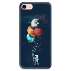Silikonové odolné pouzdro iSaprio Balloons 02 na mobil Apple iPhone 7