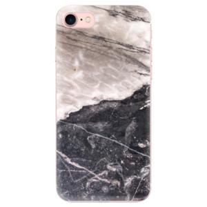 Silikonové odolné pouzdro iSaprio BW Marble na mobil Apple iPhone 7