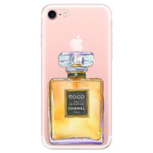Silikonové odolné pouzdro iSaprio Chanel Gold na mobil Apple iPhone 7