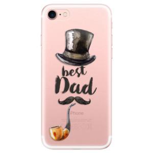 Silikonové odolné pouzdro iSaprio Best Dad na mobil Apple iPhone 7