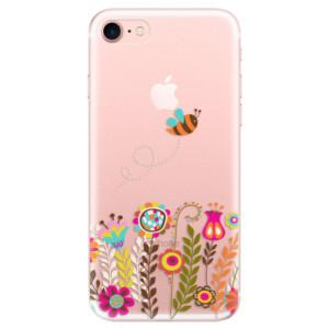 Silikonové odolné pouzdro iSaprio Bee 01 na mobil Apple iPhone 7