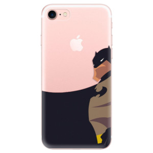 Silikonové odolné pouzdro iSaprio BaT Comics na mobil Apple iPhone 7