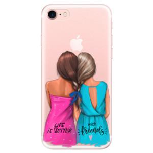 Silikonové odolné pouzdro iSaprio Best Friends na mobil Apple iPhone 7
