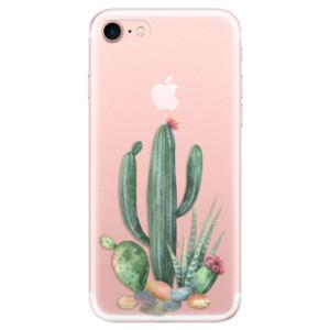Silikonové odolné pouzdro iSaprio Cacti 02 na mobil Apple iPhone 7