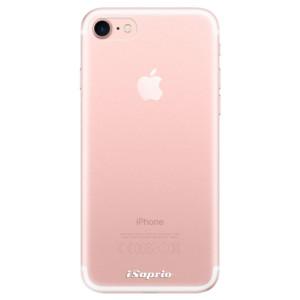 Silikonové odolné pouzdro iSaprio 4Pure mléčné bez potisku na mobil Apple iPhone 7