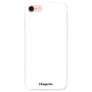 Silikonové odolné pouzdro iSaprio 4Pure bílé na mobil Apple iPhone 7