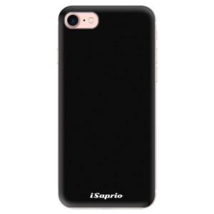 Silikonové odolné pouzdro iSaprio 4Pure černé na mobil Apple iPhone 7