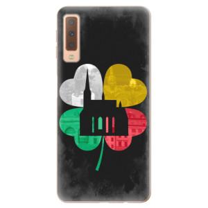 Silikonový kryt iSaprio - Pilsen Lucky City pro mobil Samsung Galaxy A7 2018