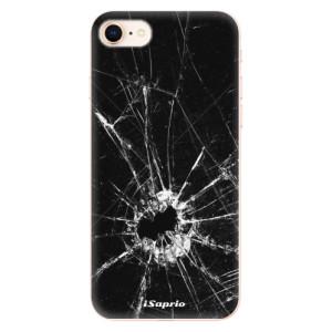 Silikonové odolné pouzdro iSaprio Broken Glass 10 na mobil Apple iPhone 8