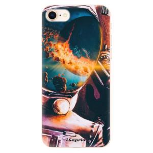 Silikonové odolné pouzdro iSaprio Astronaut 01 na mobil Apple iPhone 8