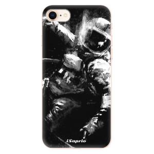 Silikonové odolné pouzdro iSaprio Astronaut 02 na mobil Apple iPhone 8