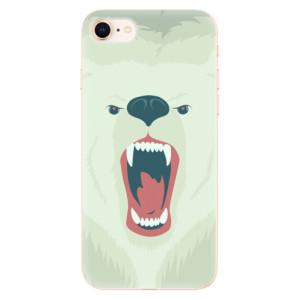 Silikonové odolné pouzdro iSaprio Angry Bear na mobil Apple iPhone 8