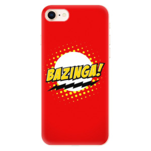 Silikonové odolné pouzdro iSaprio Bazinga 01 na mobil Apple iPhone 8