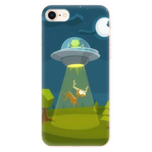 Silikonové odolné pouzdro iSaprio Alien 01 na mobil Apple iPhone 8