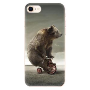 Silikonové odolné pouzdro iSaprio Bear 01 na mobil Apple iPhone 8