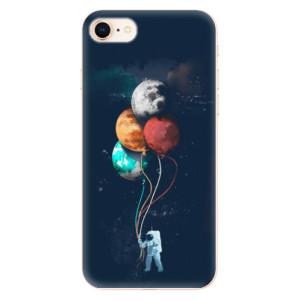 Silikonové odolné pouzdro iSaprio Balloons 02 na mobil Apple iPhone 8
