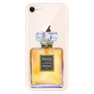 Silikonové odolné pouzdro iSaprio Chanel Gold na mobil Apple iPhone 8