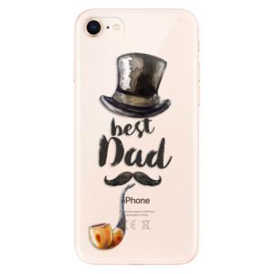 Silikonové odolné pouzdro iSaprio Best Dad na mobil Apple iPhone 8